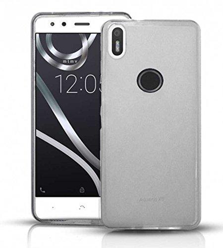 Todobarato24h Funda TPU Lisa Compatible con BQ AQUARIS X5 Plus Blanca