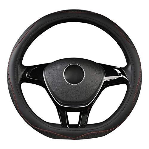 MDHANBK Coprivolante per Auto a Forma di D, per Volkswagen Golf 7 2015 Polo JATTA Passat Tiguan Nissan Qashqai J11 X-Trail T32 2015-2017 2018 Accessori per Interni Auto