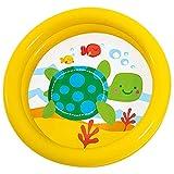 Intex 24' x 6' Gelb Zwei Ring My Ersten Pool - Schildkröte