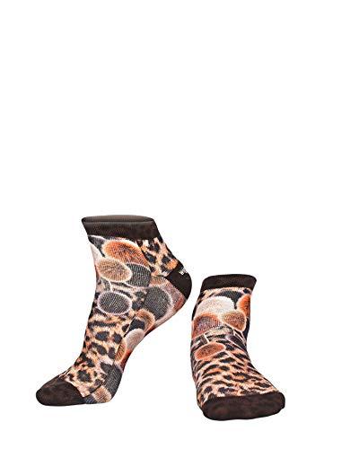 Wigglesteps Zapatillas para mujer POMPON LEO, talla única (36-40)