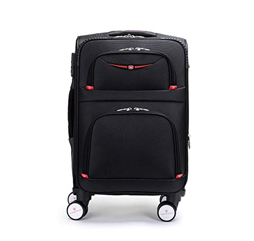 N-B Trolley Suitcase, Universal Wheels, Silent And Waterproof Oxford Suitcase Business 20 Inch Carry-on Case