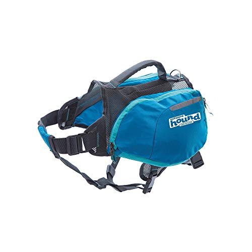 Outward Hound DayPak Blue Dog Saddleback Backpack, Medium