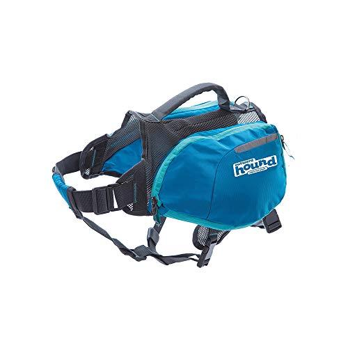 Outward Hound DayPak Blue Dog Saddleback Backpack, Medium