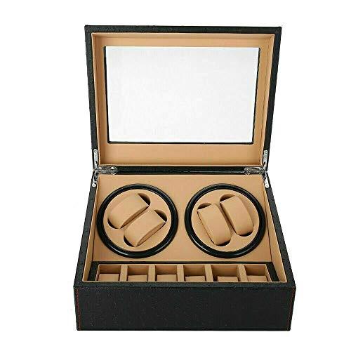 Jintaihua 4 + 6 Uhrenbeweger-Uhrenbox Automatische Uhrenbeweger Box