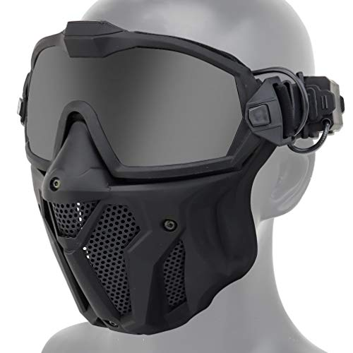 Airsoft Face Mask and Anti Fog Goggles...
