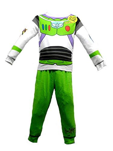 Jungen Kinder Toy Story Schlafanzug Pyjama-Set Fancy Dress–Buzz Lightyear Woody–Alter 18/24Monate, 2–5Jahre, mehrfarbig