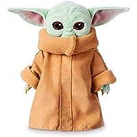 yacn Baby Yoda Peluches Juguete The Mandalorian 11.6 Pulgadas Peluches Suaves Juguetes por Kids Regalos de cumpleaños con Llavero