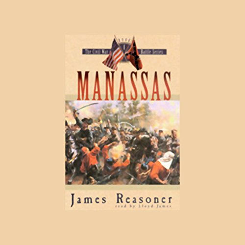 Manassas audiobook cover art