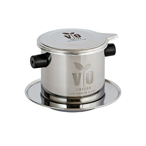VO Coffee Filtro de café vietnamita de acero inoxidable (set de filtros de café) para cafetera tradicional vietnamita