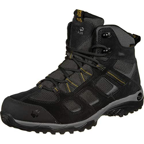 41SjItJXVuL. SS500  - Jack Wolfskin Men's Vojo Hike 2 Texapore Mid M Wasserdicht High Rise Shoes