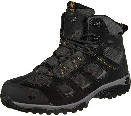 Jack Wolfskin Herren Vojo Hike 2 Texapore MID M Wasserdicht Trekking-& Wanderstiefel, Grau (Phantom 6350), 43 EU