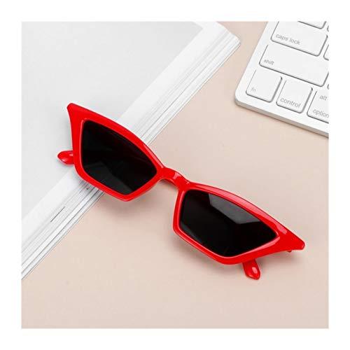AleXanDer1 Gafas de Sol Mujer Gato Gafas De Sol Gafas De Sol Pequeño Marco UV400 Sun Visor Glasses Tendencia Gafas De Sol (Color Name : B)