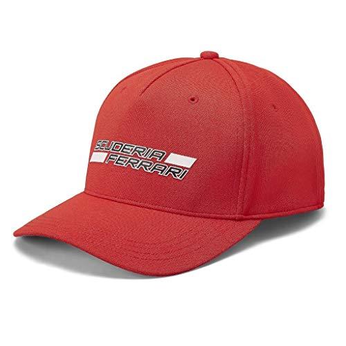 Gorra de la marca Sports Merchandising B.V. Scuderia Ferrari F1 con logo rojo