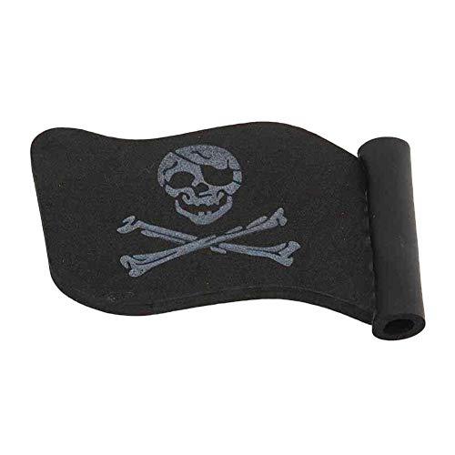 Gowsch Jolly Roger Pirate Flag Car Antenna Pen Topper Aerial Ball Decor Toy...
