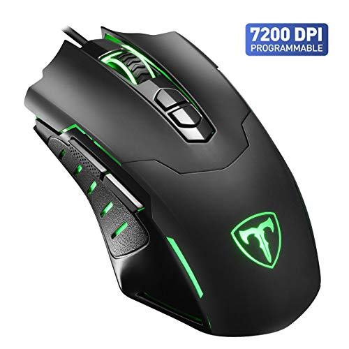 VicTsing Souris Gamer Programmable 7200 dpi Souris Gaming...