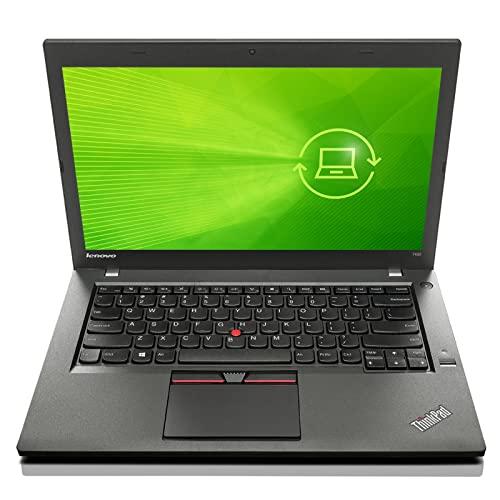 Lenovo ThinkPad T450 Ultrabook 35,6cm 14 Zoll HD+ Intel Core i5 5300U zu 2,90 8GB RAM 180GB SSD Webcam Docking Win10 Pro Softwarepaket (Generalüberholt)