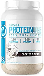 Sponsored Ad - ProteinOne Low Carb Whey Protein by NutraOne —Weight Loss and Build Muscle with a Low Carb Protein Shake Po...