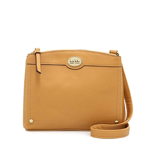 Nicole Miller Handtaschen Norah Crossbody, Gelb (gold), Medium