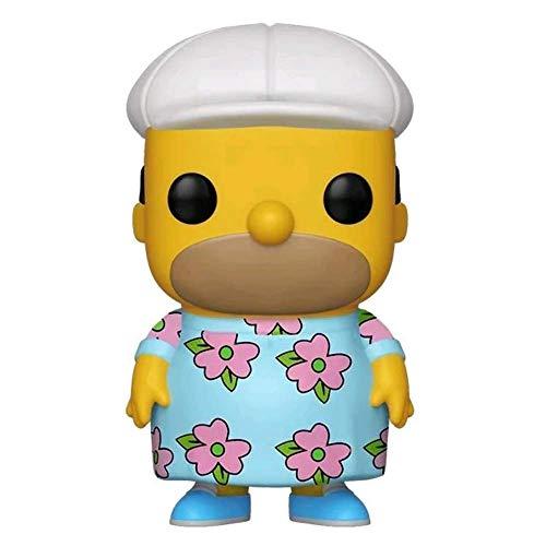 Funko Pop!  - Homer Muumuu - Exclusivité Les Simpsons