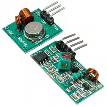 Souked 315MHz XD XD - FST -RF - 5V Wireless Transmitter Receiver-Modul nicht super- Heterodyn