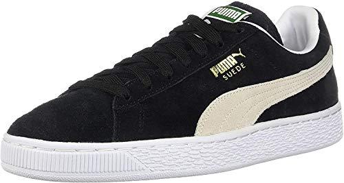 PUMA Suede Classic Sneaker,Black/White,8 M US Men's