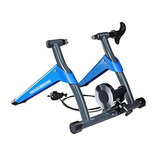 LKNJLL Vélo Formateur Support Vélo Formateurs vélo de Route Formateur for l'équitation intérieur magnétique Formateur vélo avec 8 Niveaux de résistance