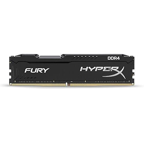 HyperX FURY Black 16GB Kit (2x8GB) 2133MHz DDR4 Non-ECC CL14 DIMM Desktop Memory (HX421C14FBK2/16)
