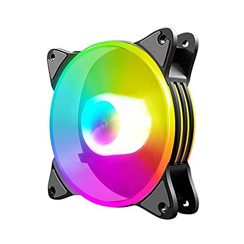 Taitan Ventilador colorido de la caja del ordenador del refrigerador de la PC de los ventiladores de la PC de la refrigeración silenciosa
