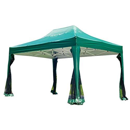 Yishelle Toldo Terraza Carpa con Mosquitera Plegable en Acordeón (Color : Verde, tamaño : Ones)