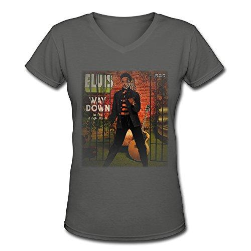 T shirt-ladies Elvis Presley Down en la selva habitación Tee Shirt.