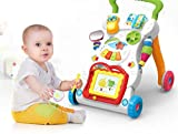 SEAHORSE Children Musical Walker, Push & Pull Toy for Toddlers & Kids, Ba