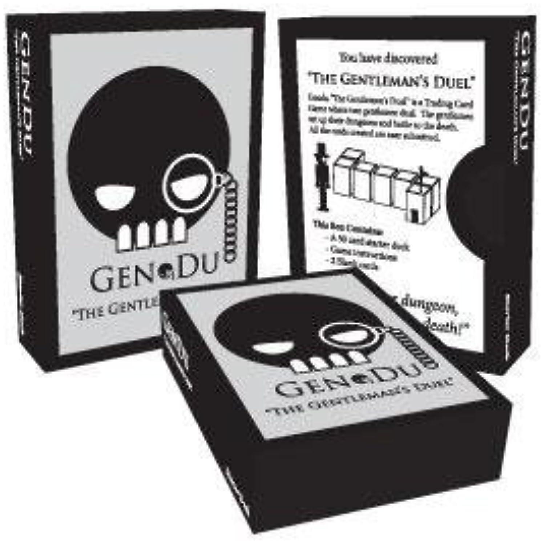 GenDu The Gentleman's Duel Starter Deck by GenDu Cards by GenDu Cards