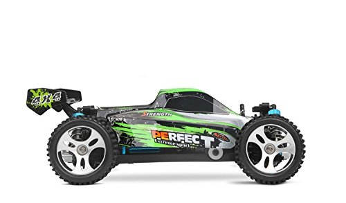 RC Auto kaufen Buggy Bild 3: s-idee® 18130 A959-A RC Auto Buggy Monstertruck 1:18 mit 2,4 GHz 35 km/h schnell, wendig, voll digital proportional 4x4 Allrad WL Toys ferngesteuertes Buggy Racing Auto*