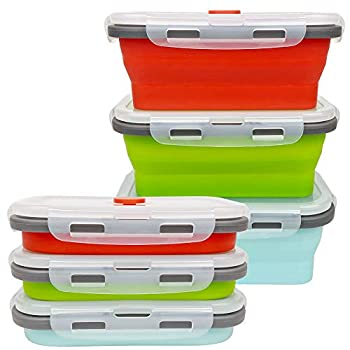collapsible containers food storage