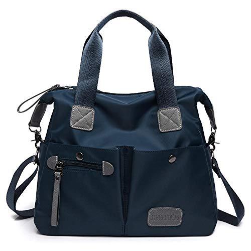 MYPETOLL Damentasche Leinwand Handtasche Schulter Crossbody Einkaufstasche Schule Arbeit Reisen und Einkaufen Mode Nylon Umhängetasche Wild Crossbody Bag-C Trompete