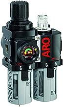 Ingersoll Rand ARO C38341-600-VS Air Filter-Regulator-Lubricator Combination, 1/2