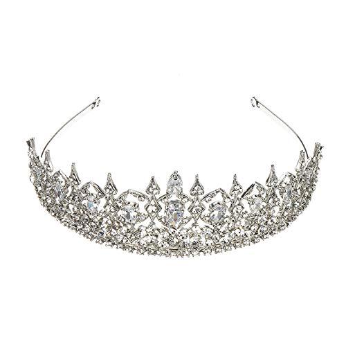 ILS - Fascia da sposa con diadema di cristallostrass principessa