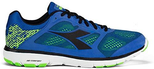 Diadora Zapatillas deportivas para hombre, nueva colección X Run Running (Royal/Black -...