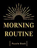 Morning Routine: Word Search, Easy and Medium Sudoku ~ Large Print