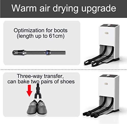 Zapato Secador Secador de botas, con el temporizador UV y el ozono...