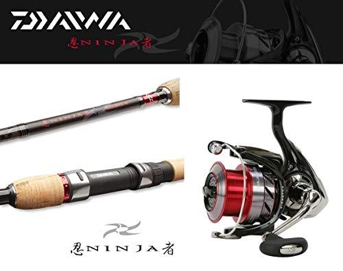 Daiwa Ninja Allroundcombo 2,40m / 30-70g + Ninja 2500A Spinncombo