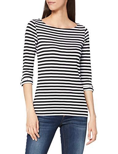 Esprit 991ee1k303 Camiseta, 001/Black, XS para Mujer