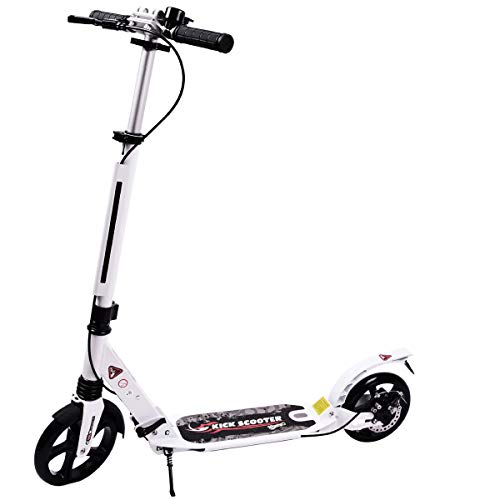 New WINNINGO Kick Scooter for Adults Teens with Disc Brake, Easy-Folding System, 220lb Weight Capaci...