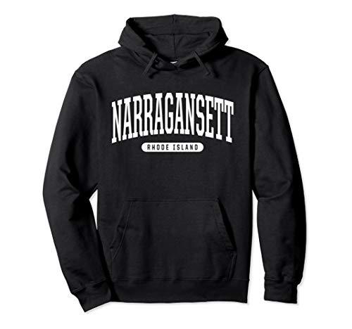 Narragansett Hoodie Sweatshirt College University Style RI U