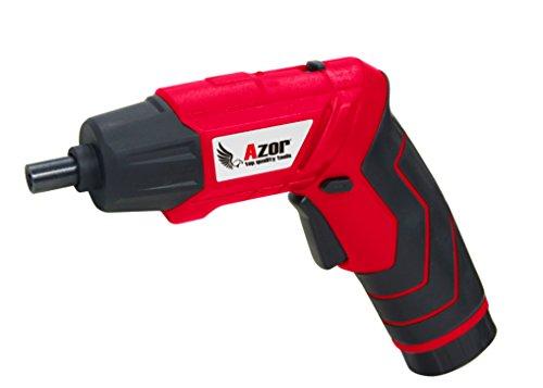 Azor AT-5162 Atornillador de Batería con Maletín, 5.76 W,