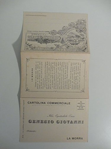 Giovanni Genesio, La Morra. Premiata casa produttrice di vini di lusso e da pasto, specialita' Barolo