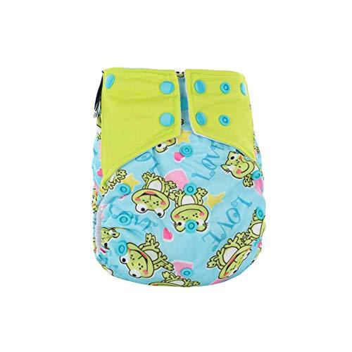 BIGBOBA Babytopf Trainingshose Polyester Trainingsunterwäsche mit Knopf verstellbar wasserdicht atmungsaktiv Kinderwindelhose Druck Toilettentopf für 1-6 Jahre alt