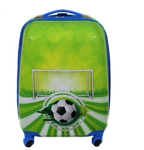 Maleta Infantil Equipaje de Manos para niños Bolso de Cabina Viaje. Futbol