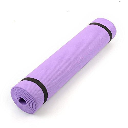 Forfar 68 'x24' x0.24' 6 mm de espesor Estera de yoga Antideslizante Perder peso El ejercicio físico