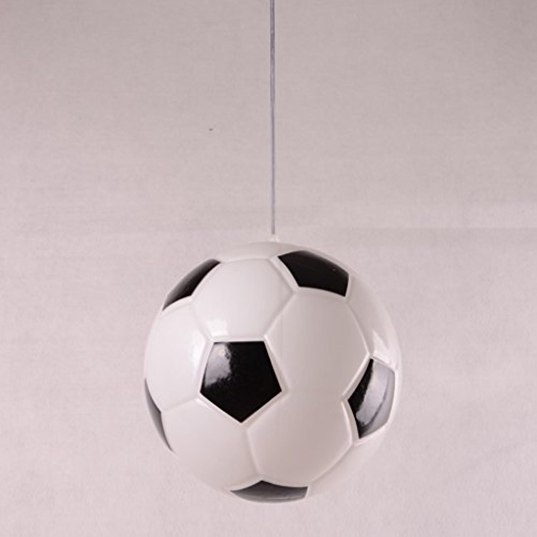 Chandelier .H HCJ Einfache Fuball-Kronleuchter Schlafzimmer Leuchtet Studie Lichter Zufriedenheit (Stil   A)